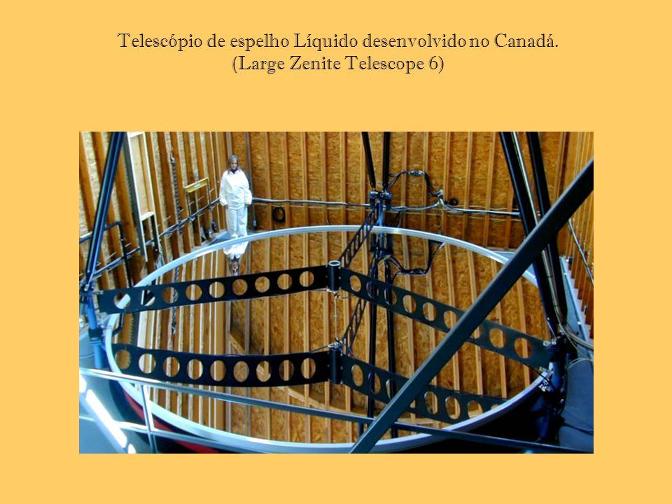 Telescópio de espelho Líquido desenvolvido no Canadá. (Large Zenite Telescope 6)