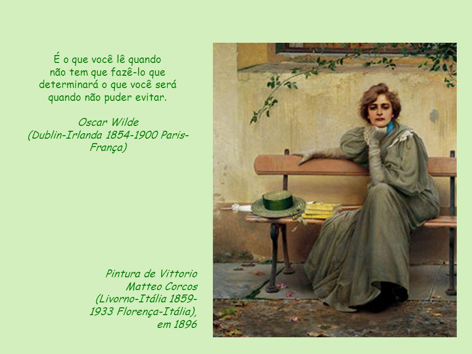 Pintura de Karin Jurick (Califórnia-Estados Unidos) O livro é uma das possibilidades de felicidade de que dispomos. Jorge Luis Borges (Buenos Aires-Ar