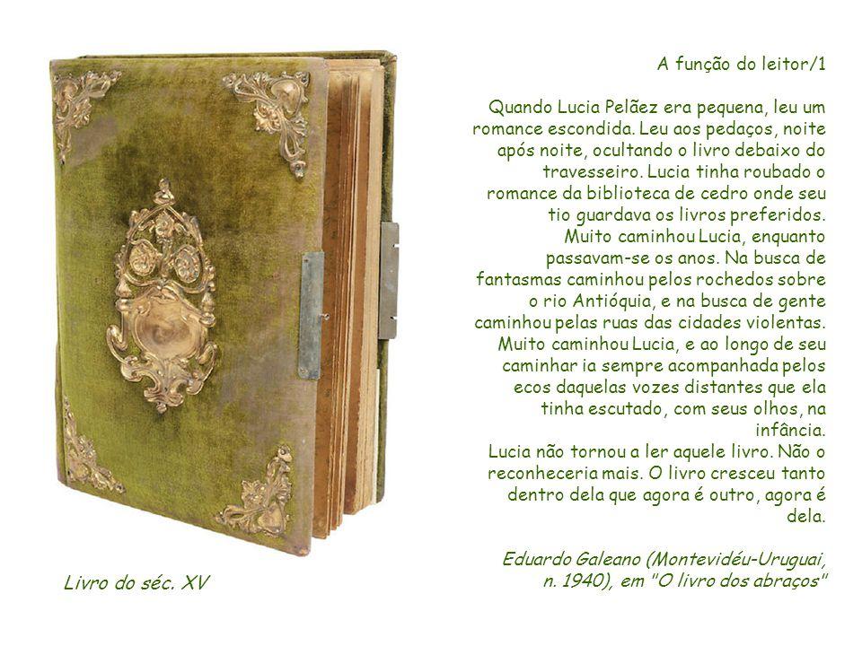 Que nunca o livro fique longe de tua mão e de teus olhos. São Jerônimo (Dalmácia-Croácia? 342?-420 Belém-Cisjordânia)