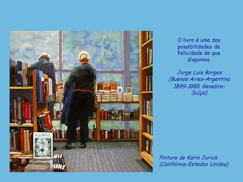Pintura de Irene Sheri (Belgorod-Dnestrovsky-Ucrânia, n. 1968) Devemos ler para oferecer à nossa alma a oportunidade de luxúria. Henry Miller (Nova Io