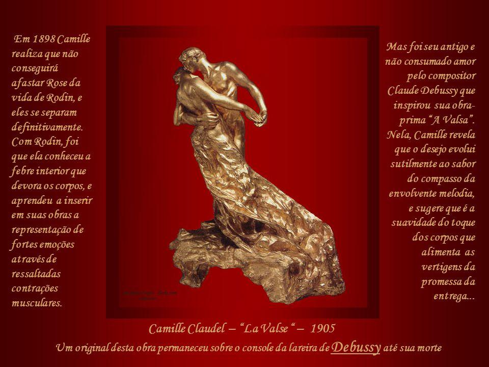 Todavia, basta atentar para a emocionante escultura para se perceber que ela representa o calvário da infelicidade de Camille: as asas amassadas, pisa