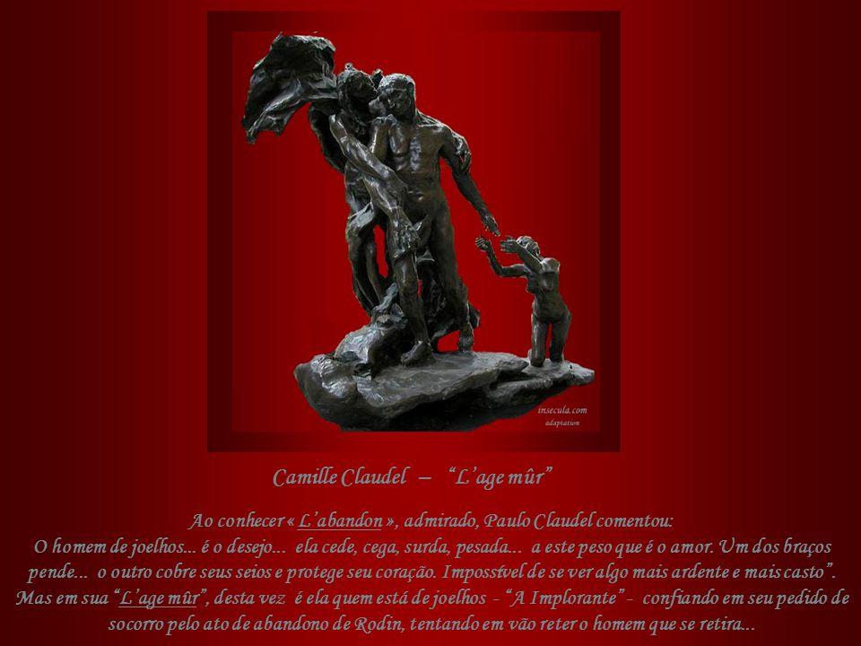 Em 1898 Camille realiza que não conseguirá afastar Rose da vida de Rodin, e eles se separam definitivamente. Com Rodin, foi que ela conheceu a febre i