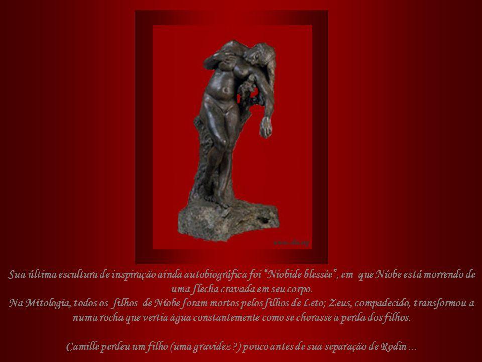 Ao conhecer « Labandon », admirado, Paulo Claudel comentou: O homem de joelhos... é o desejo... ela cede, cega, surda, pesada... a este peso que é o a