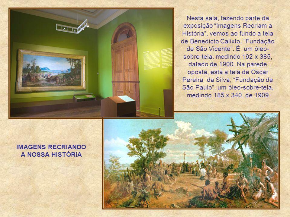 BIBLIOTECA Instalada já na inauguração do Museu, tem seu perfil especializado na área de História, Em seu acervo existem cerca de 26.000 livros, 2.300