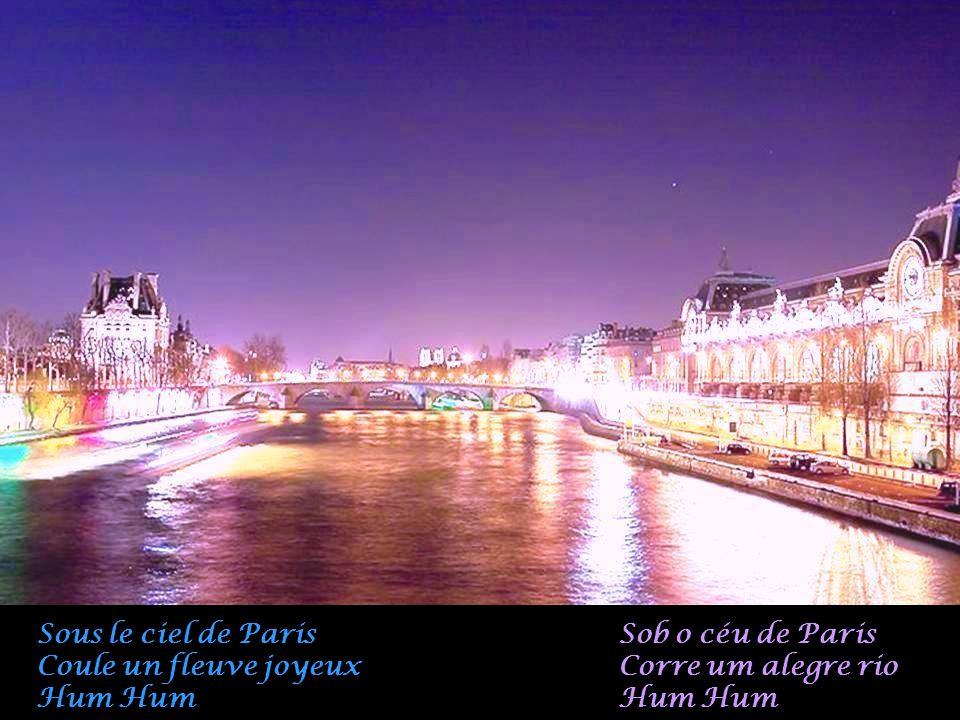 L'espoir fleurit Au ciel de Paris E a esperança floresce No céu de Paris