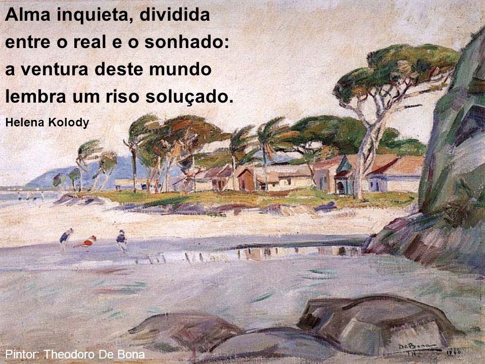 No cenário brasileiro terra mais linda não há do que a terra do Pinheiro, o meu grande Paraná. Francisco Filipak Pintor:Theodoro de Bona