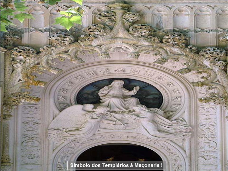 Símbolo dos Templários à Maçonaria (Estrela de oito pontas) !