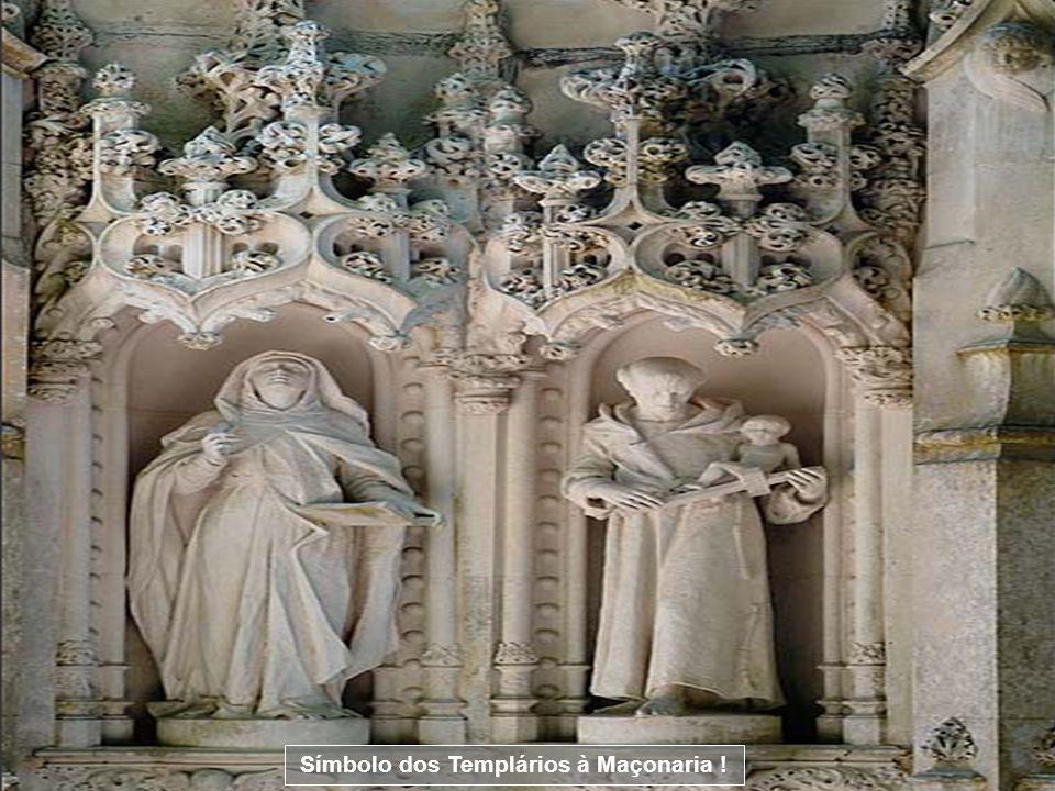 Símbolo dos Templários à Maçonaria !