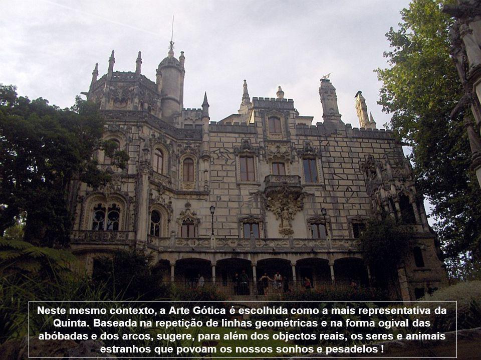 Neste mesmo contexto, a Arte Gótica é escolhida como a mais representativa da Quinta.