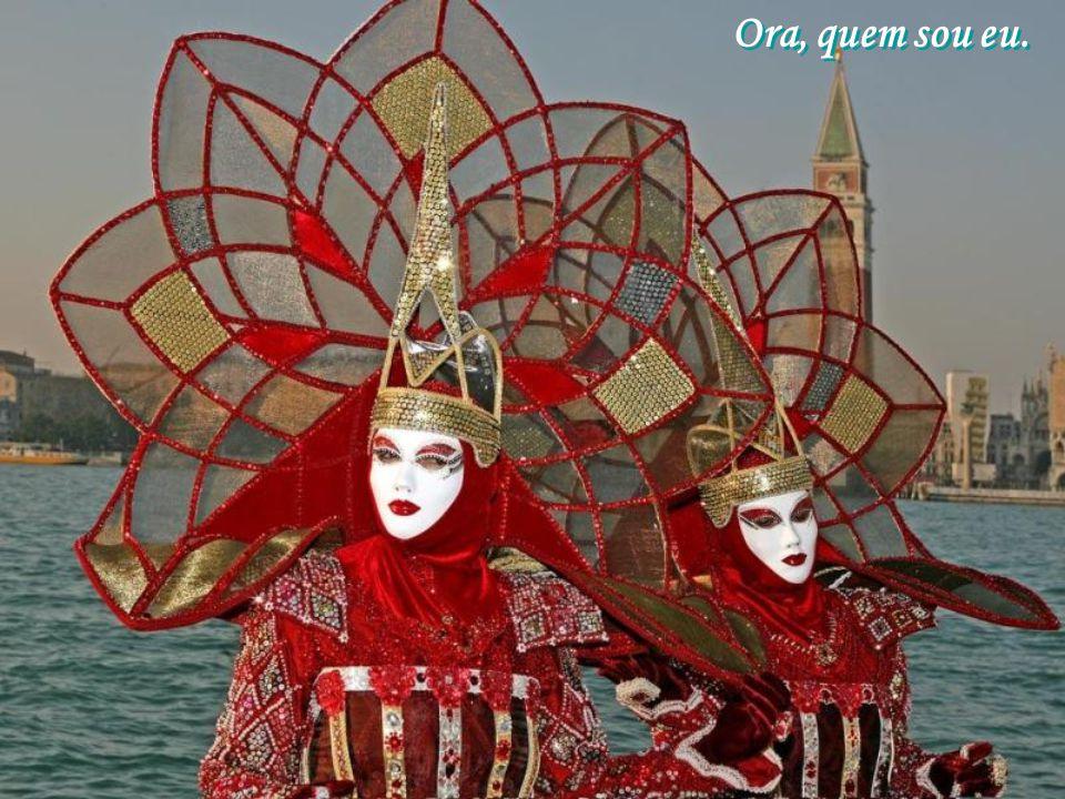 Imagens do carnaval em Veneza