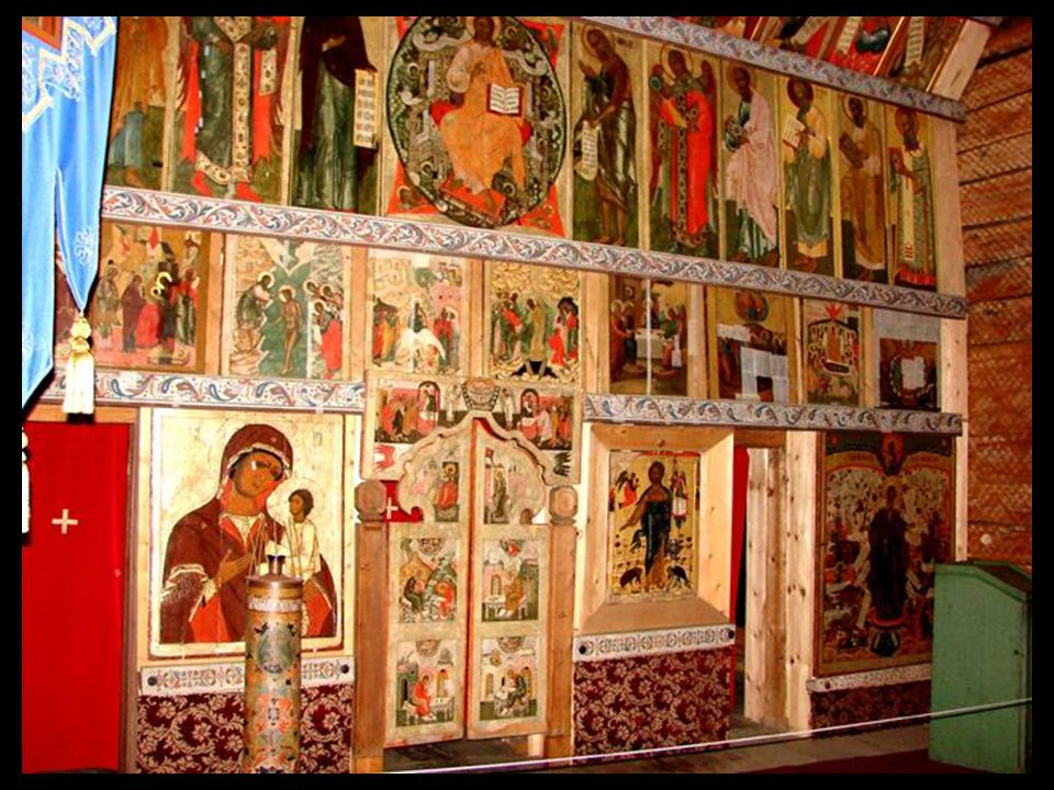 O interior da igreja menor, a « Igreja de inverno »