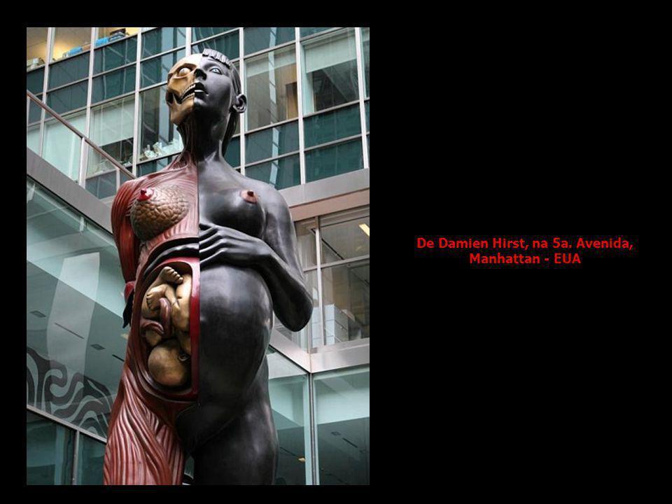 De Damien Hirst, na 5a. Avenida, Manhattan - EUA