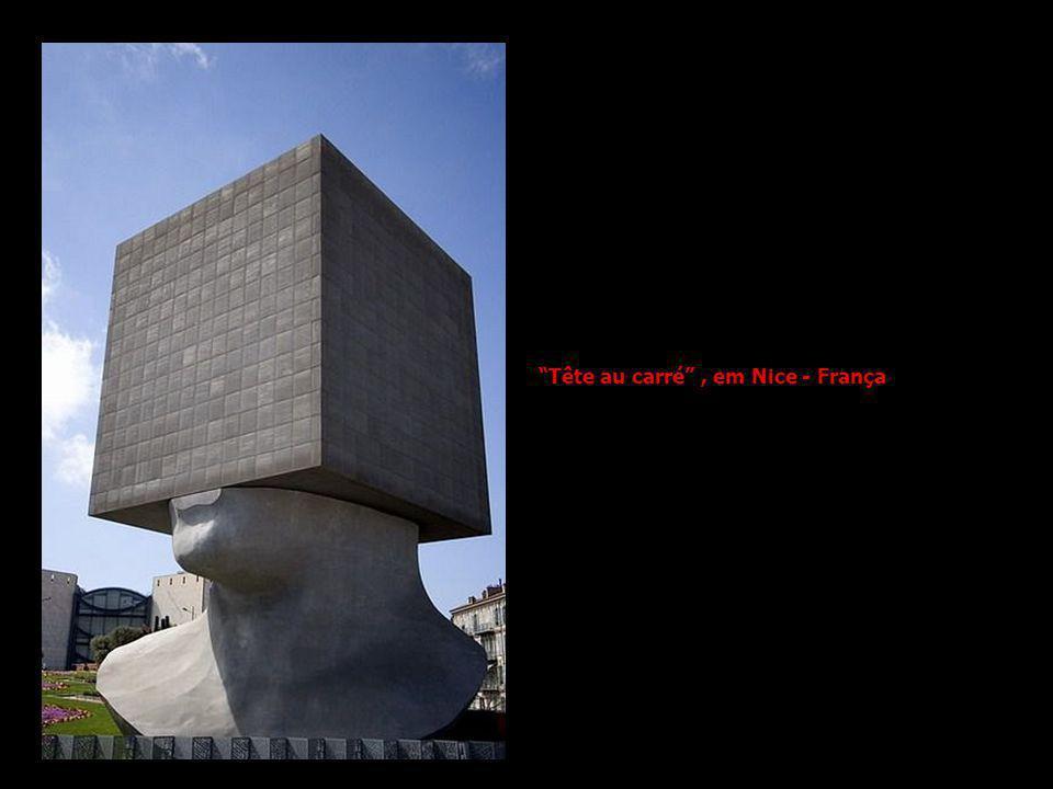 Tête au carré, em Nice - França
