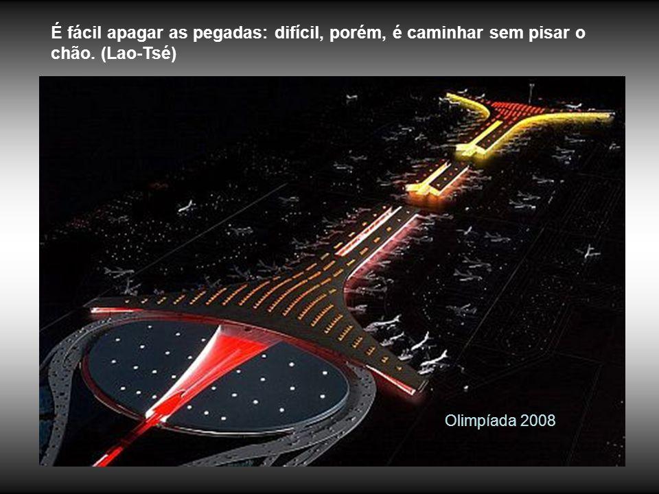 Olimpíada 2008 O ser humano tem a perversa tendência de transformar o que lhe é proibido em tentação. (Confúcio)