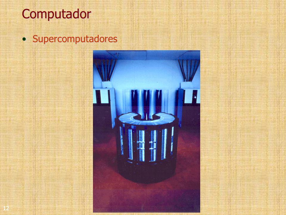 12 Computador SupercomputadoresSupercomputadores