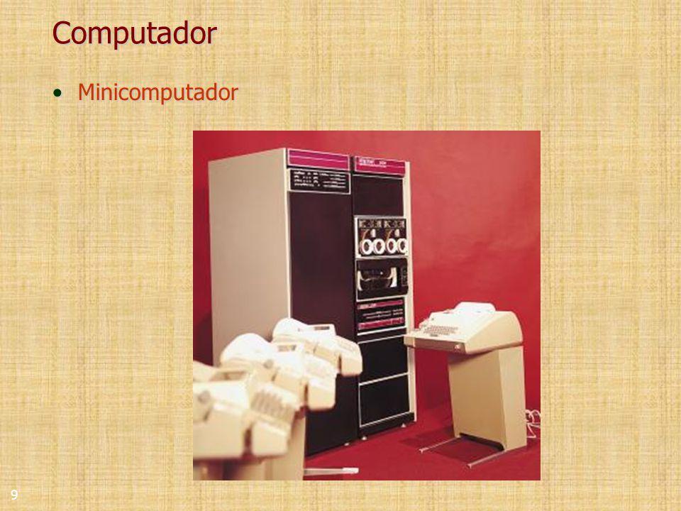 9 Computador MinicomputadorMinicomputador