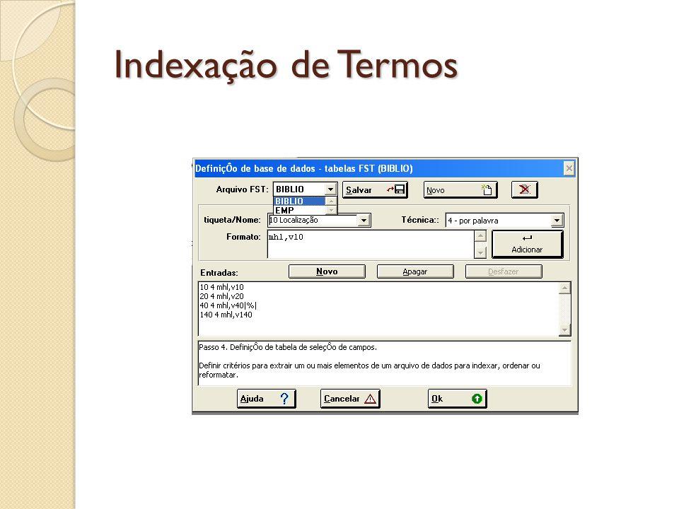 Indexação de Termos