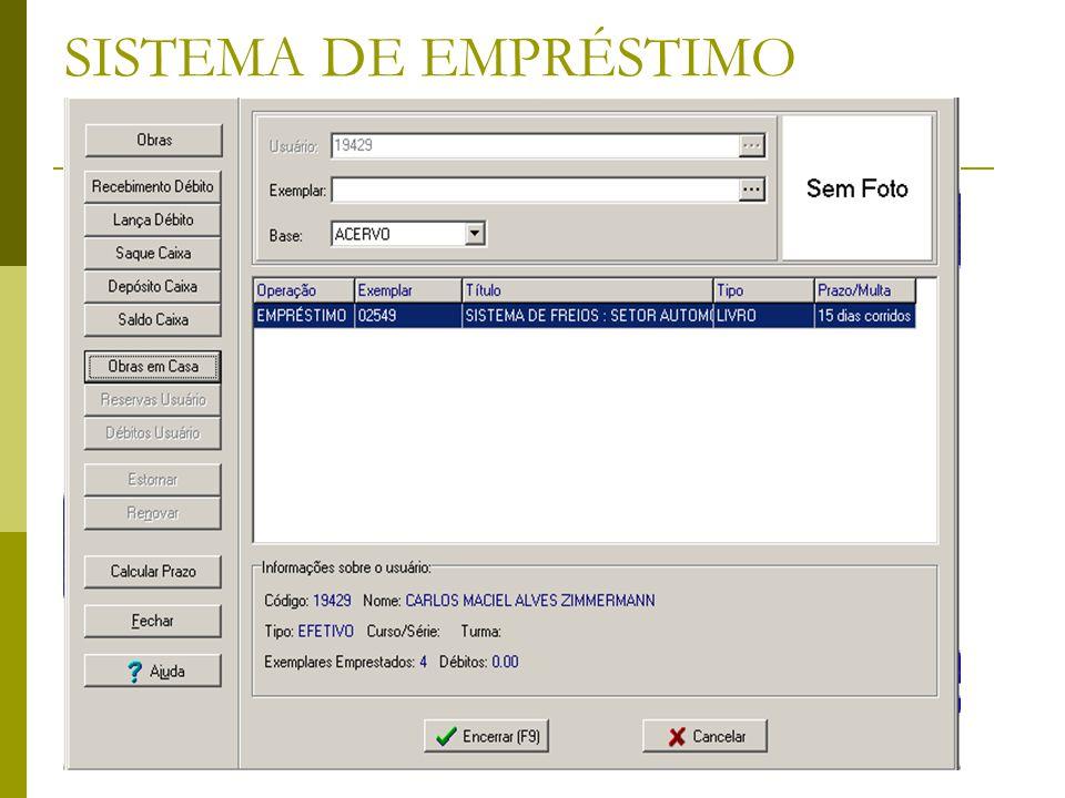 OBRAS EM CASA: Permite a impressão mas não emite avisos e não envia aviso por e-mail ao usuário