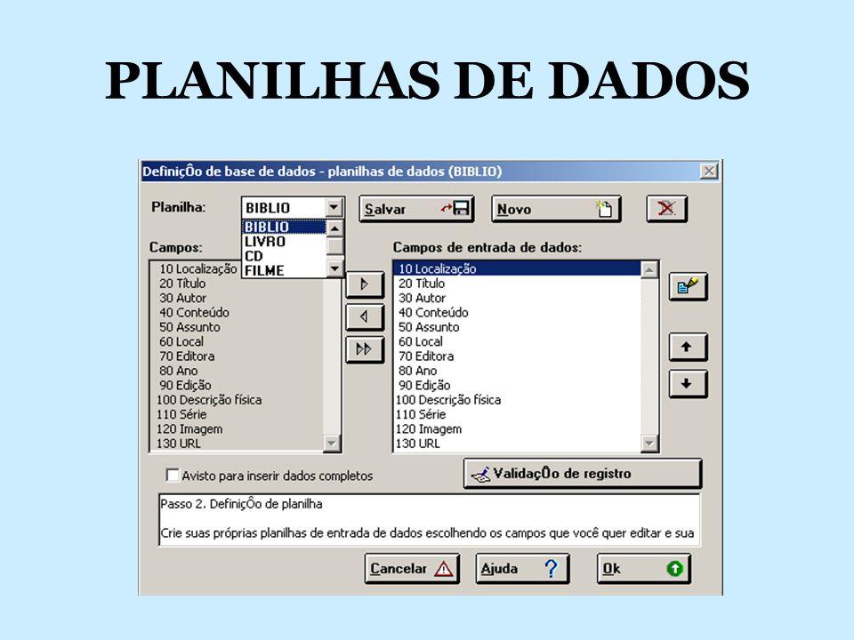 ENTRANDO DADOS