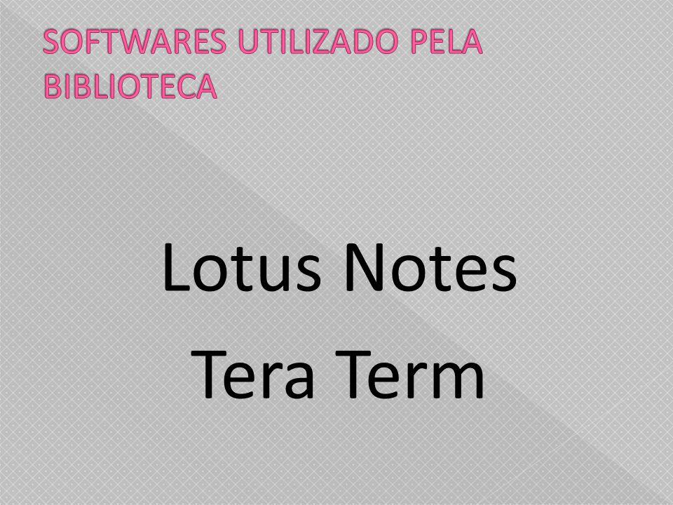 Lotus Notes Tera Term