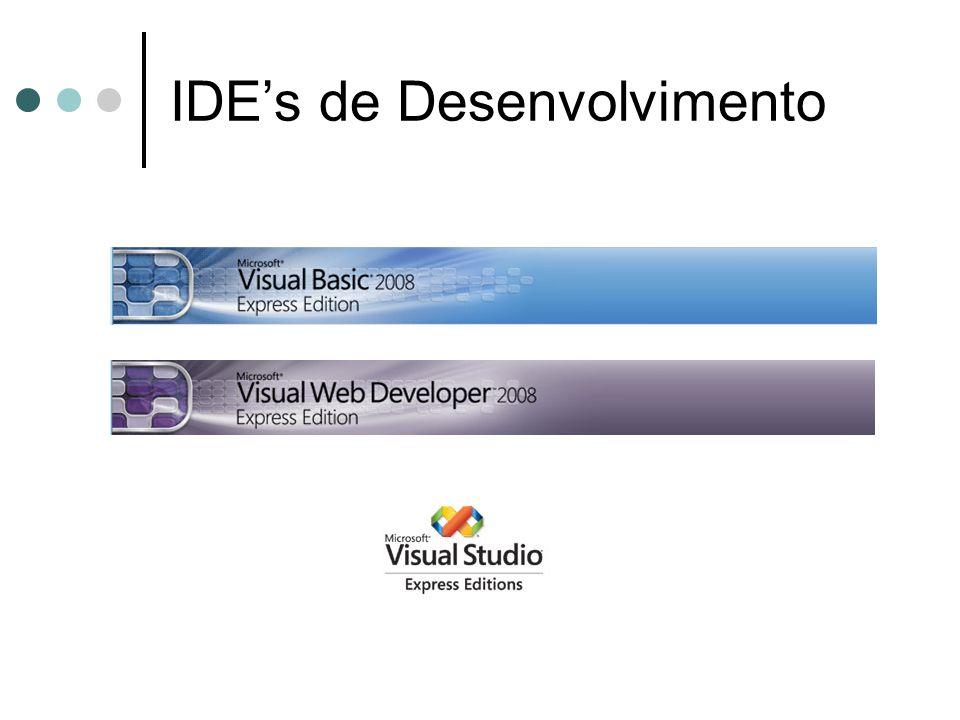IDEs de Desenvolvimento