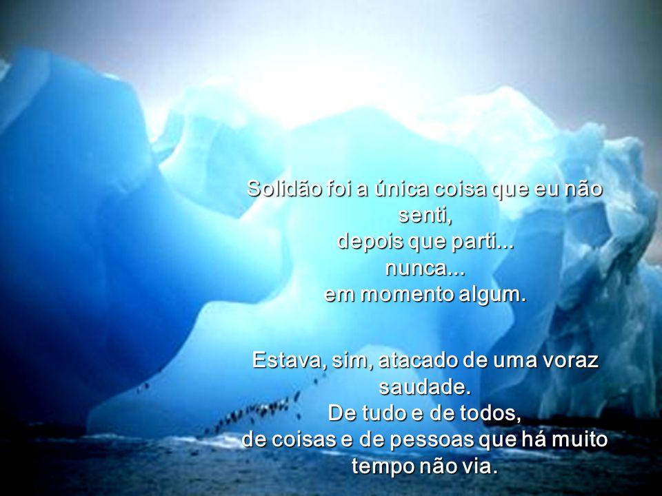 SOLIDÃO Amyr Klink