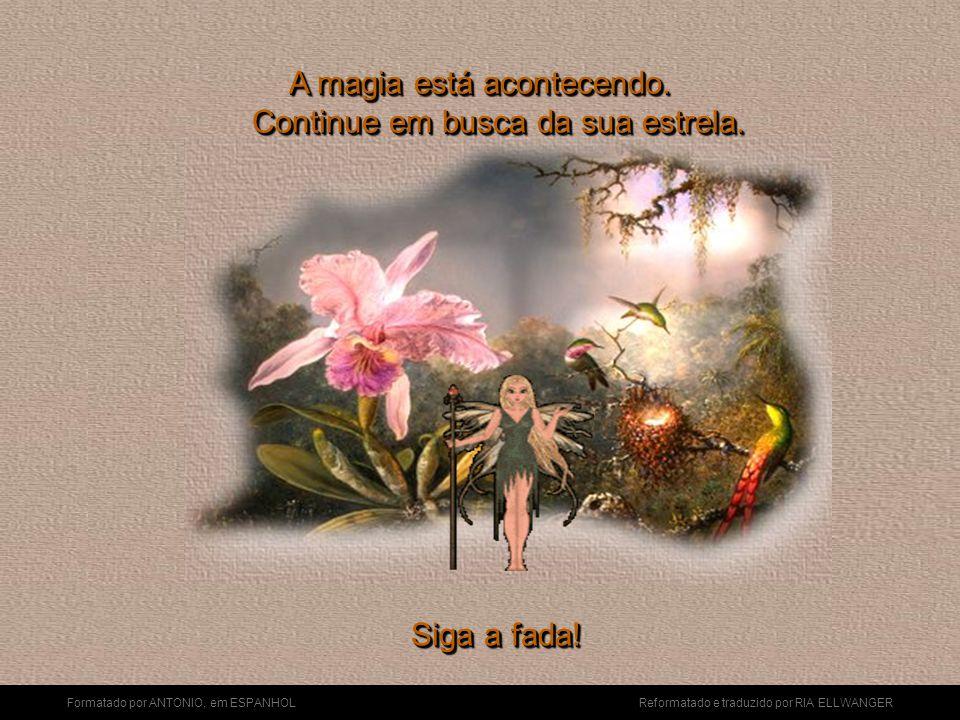 Formatado por ANTONIO, em ESPANHOL Reformatado e traduzido por RIA ELLWANGER A viagem está começando. Mas lembre-se que é preciso acreditar na magia!