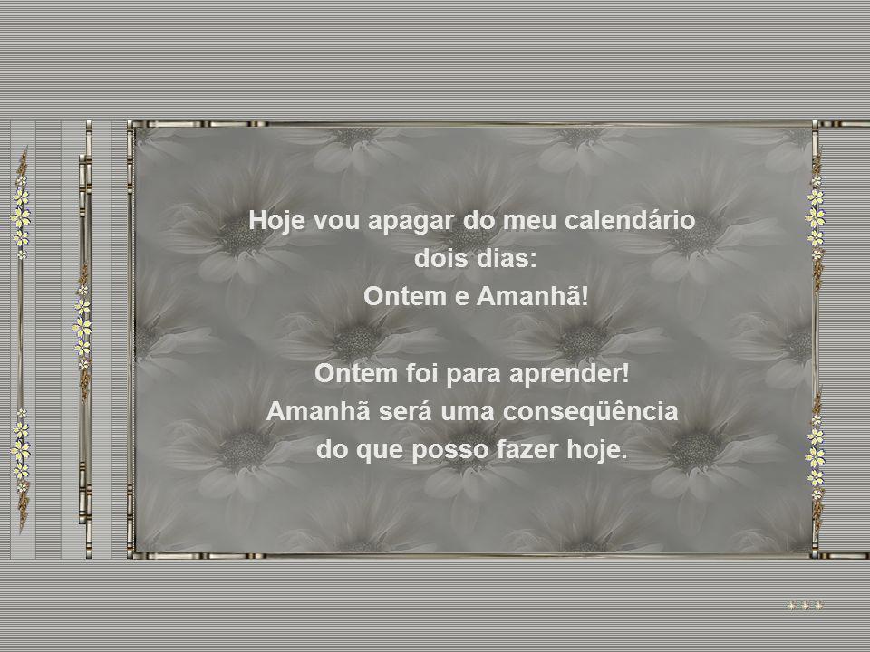 ONTEM E AMANHÃ ONTEM E AMANHÃ