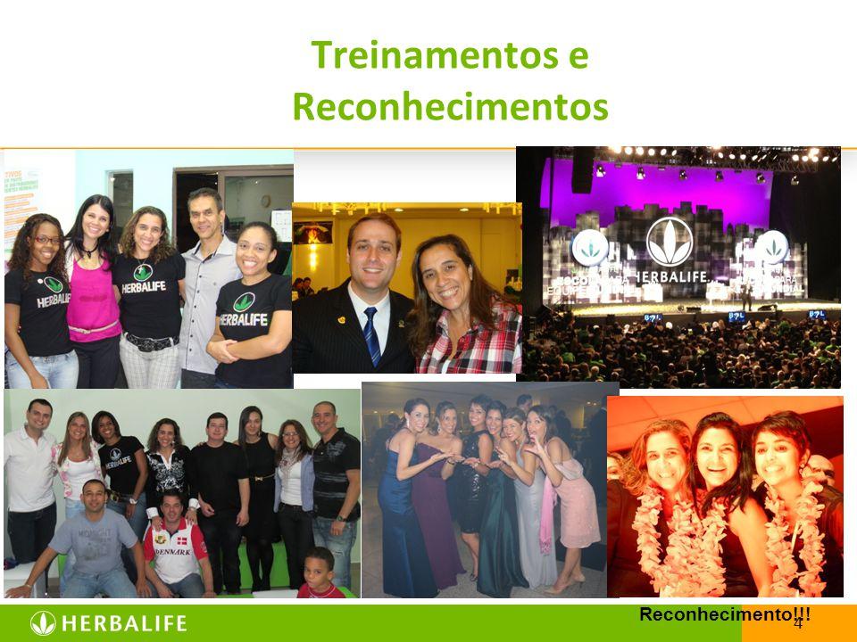 4 Treinamentos e Reconhecimentos Reconhecimento!!!