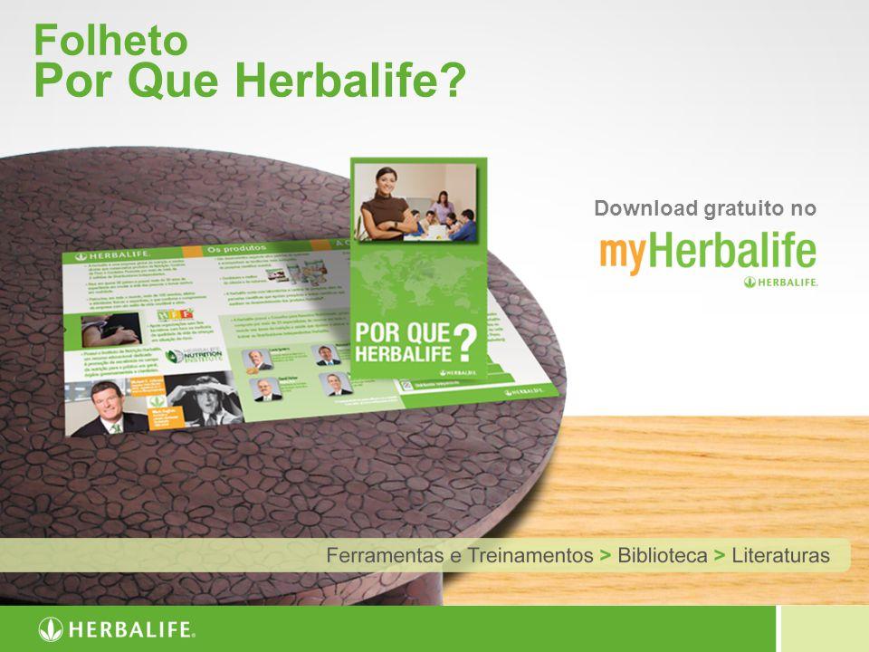 Folheto Por Que Herbalife? Download gratuito no