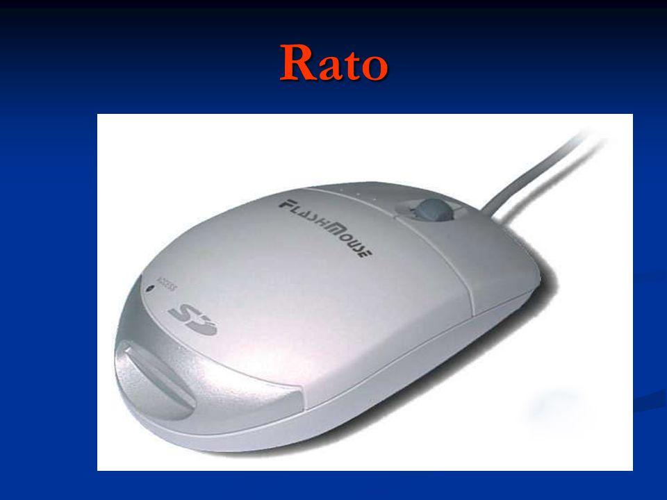 Rato O rato é um dispositivo fundamental no trabalho com um computador.
