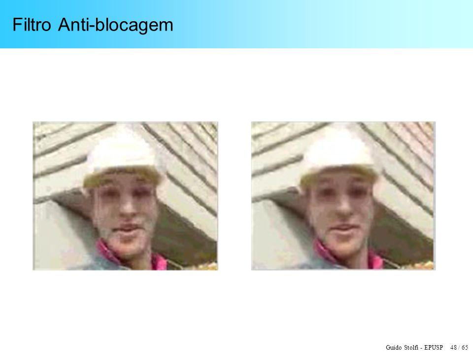Guido Stolfi - EPUSP 48 / 65 Filtro Anti-blocagem