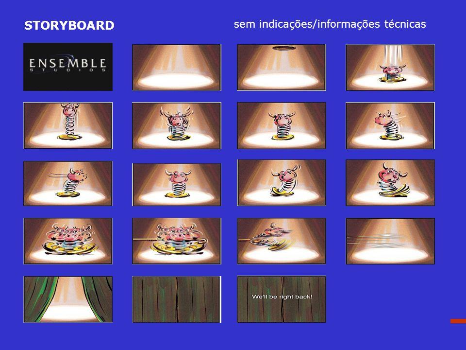 STORYBOARD sem indicações/informações técnicas The end