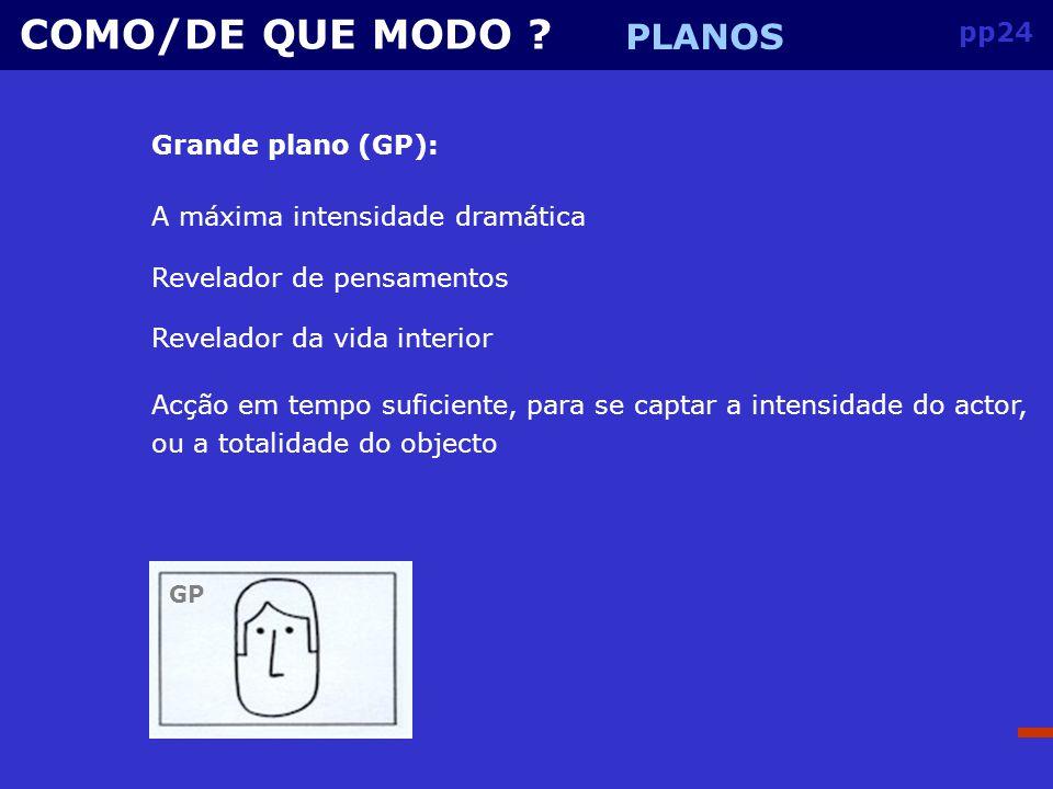 pp23 COMO/DE QUE MODO .