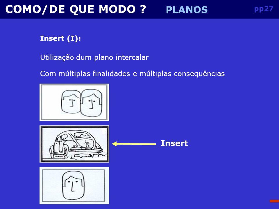 pp26 COMO/DE QUE MODO .