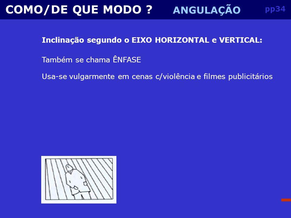 pp33 COMO/DE QUE MODO .