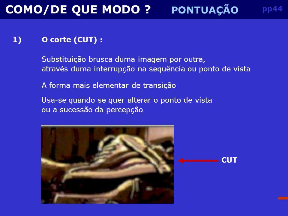 pp43 COMO/DE QUE MODO .