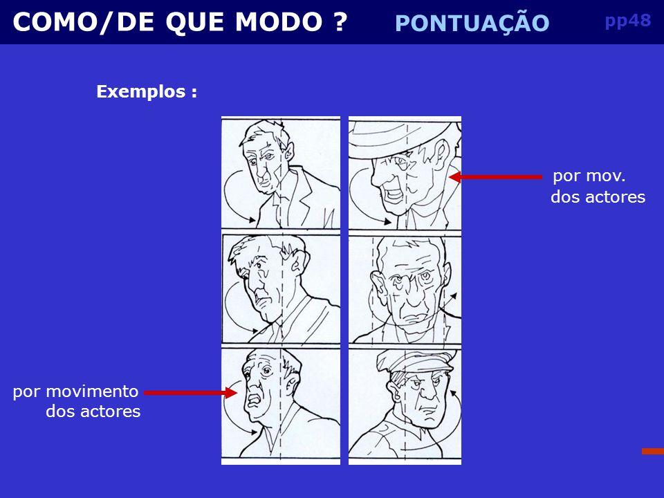 pp47 COMO/DE QUE MODO .