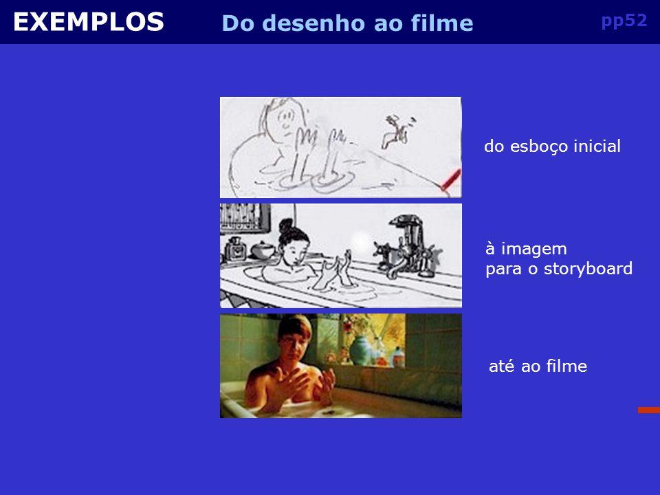 pp51 EXEMPLOS Relação câmara-storyboard