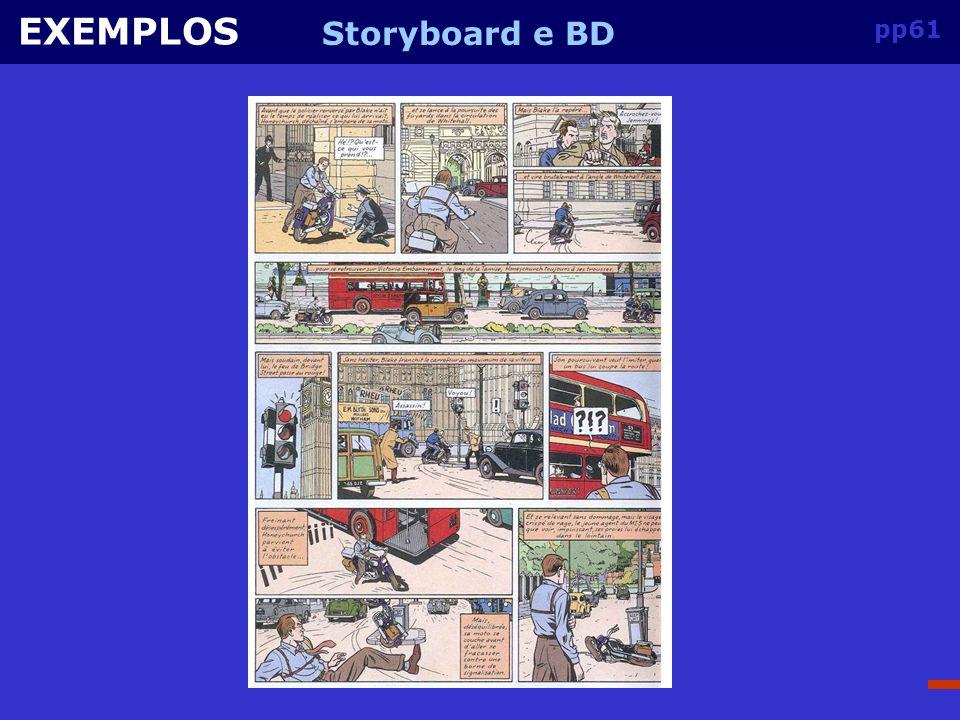 pp60 EXEMPLOS Storyboard e BD
