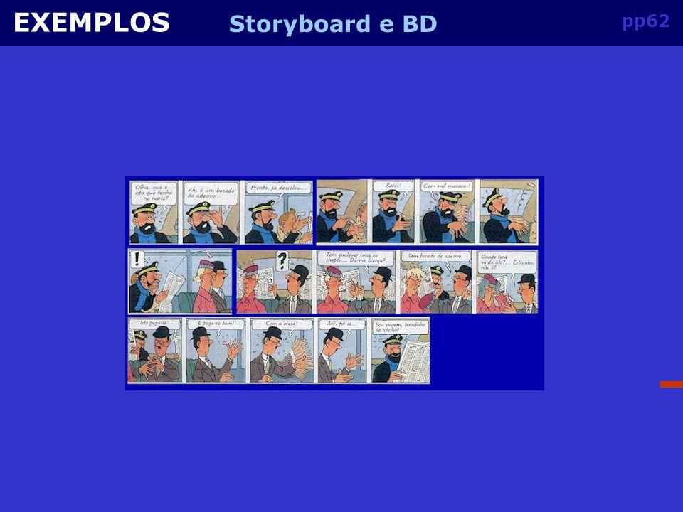 pp61 EXEMPLOS Storyboard e BD