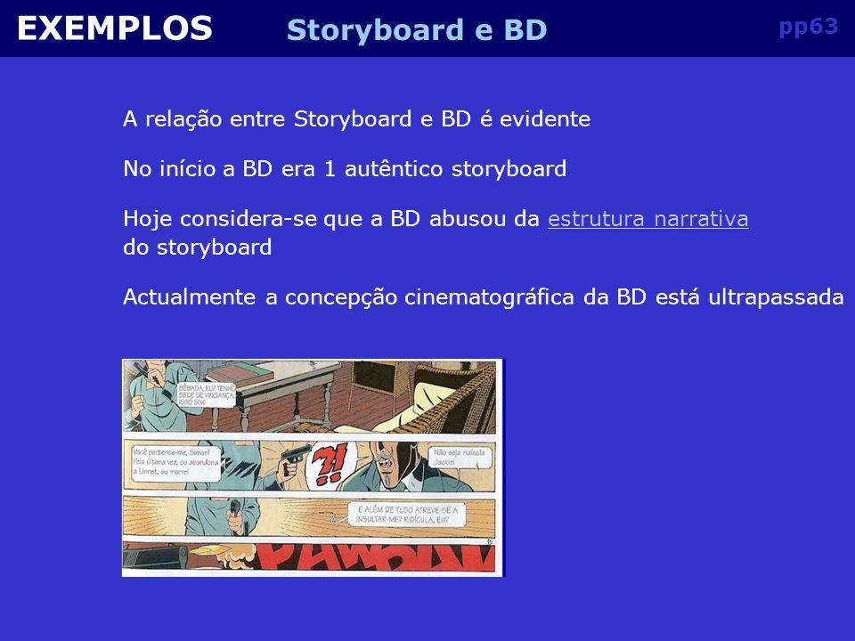 pp62 EXEMPLOS Storyboard e BD
