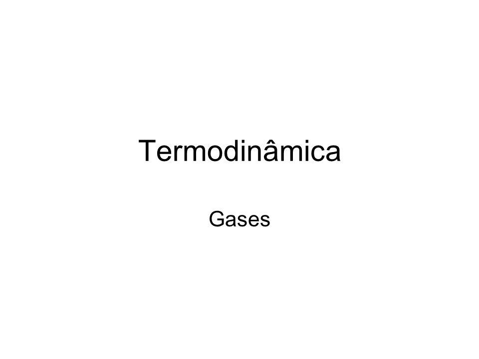Termodinâmica Gases