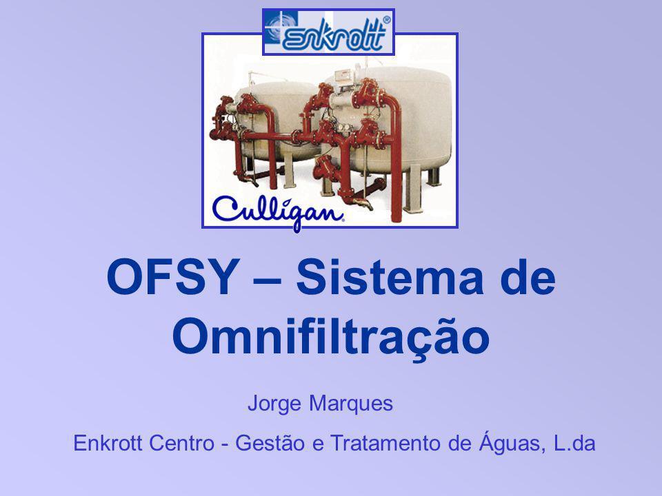 OFSY – Sistema de Omnifiltração Jorge Marques Enkrott Centro - Gestão e Tratamento de Águas, L.da