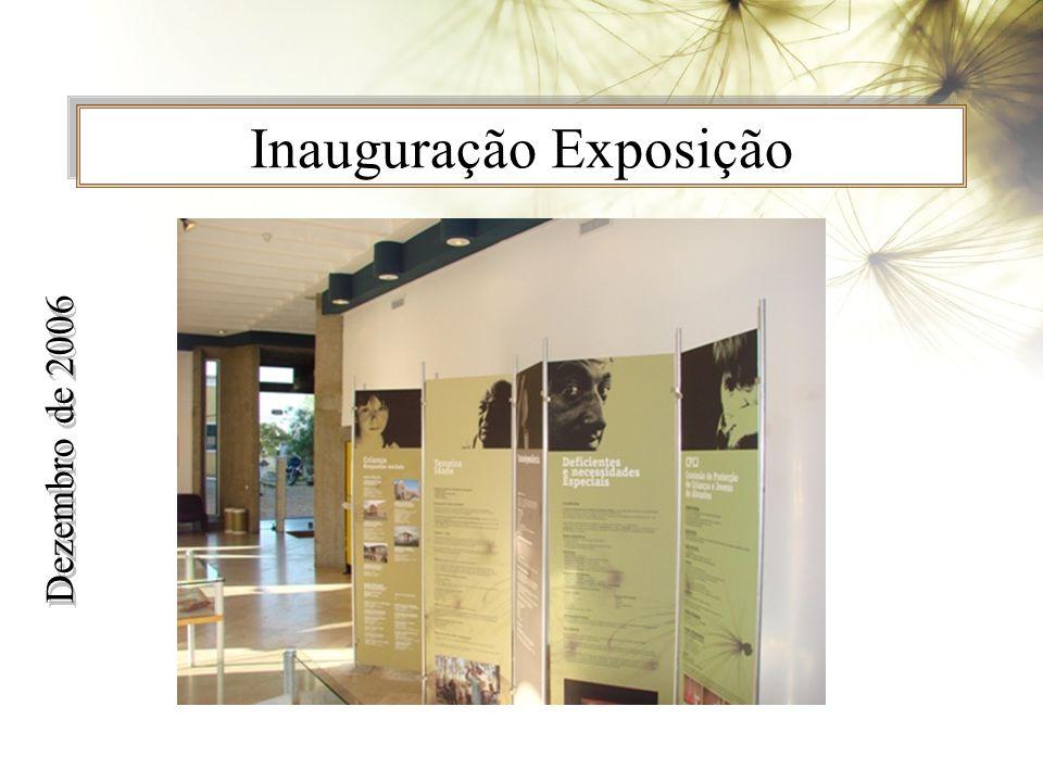 Inauguração Exposição Dezembro de 2006