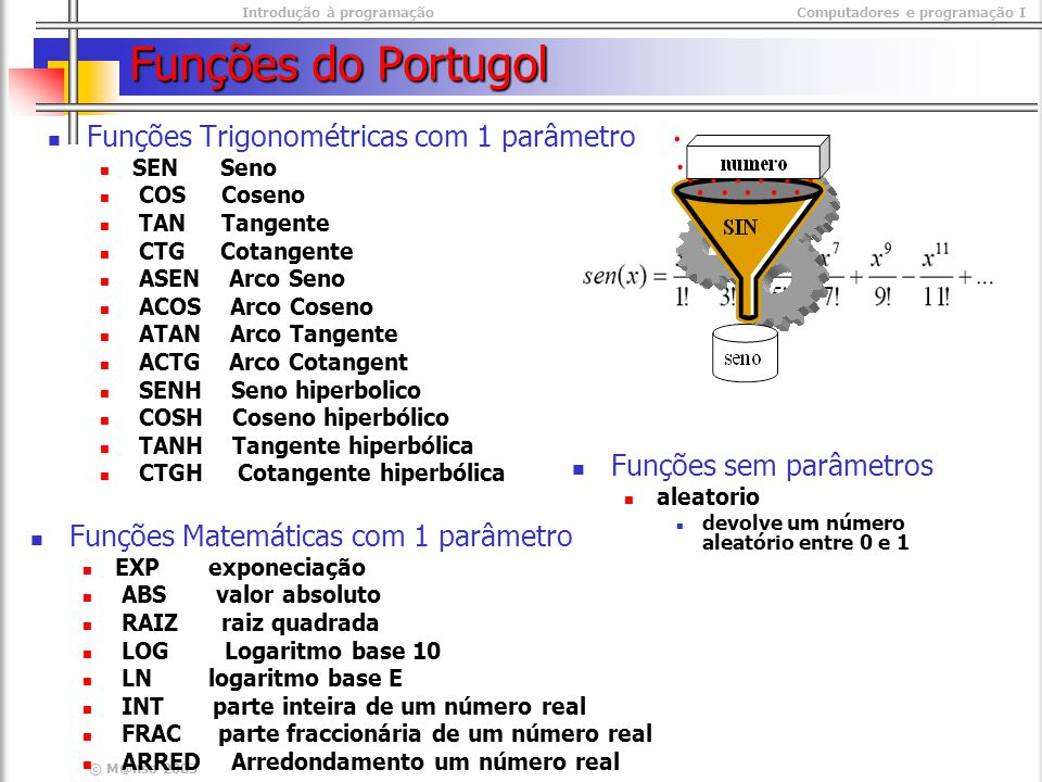Introdução à programaçãoComputadores e programação I © M@nso 2003 Exercícios Pretende-se solicitar dois números ao utilizador e o programa troca os valores das variáveis.