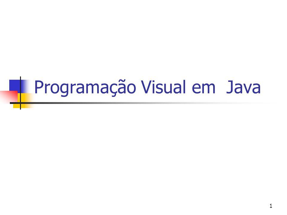 1 Programação Visual em Java