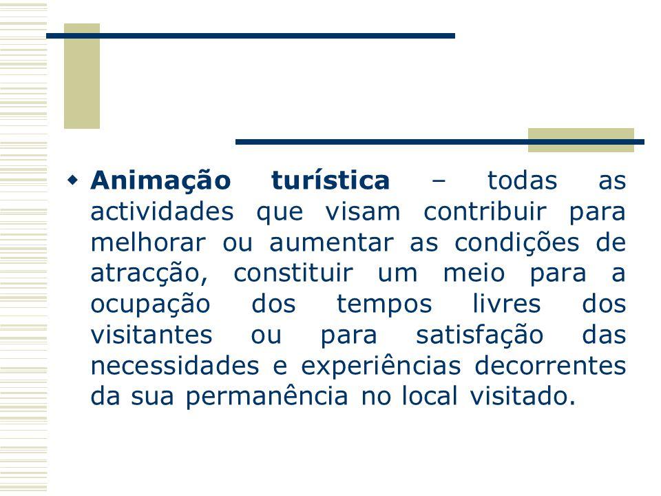 PRINCIPAIS NÚCLEOS DE ATRACÇÃO Os efeitos esperados destes acontecimentos, que em regra exigem a mobilização de consideráveis meios financeiros, são: Aumento da cobertura publicitária e de informação através dos meios de comunicação internacional e/ou mundial; Melhoria e expansão das infra-estruturas turísticas e dos serviços de turismo; Aumento das actividades promocionais das indústrias do turismo a fim de capitalizar o ambiente favorável que o acontecimento cria; Aumento dos fluxos turísticos durante e após o acontecimento.