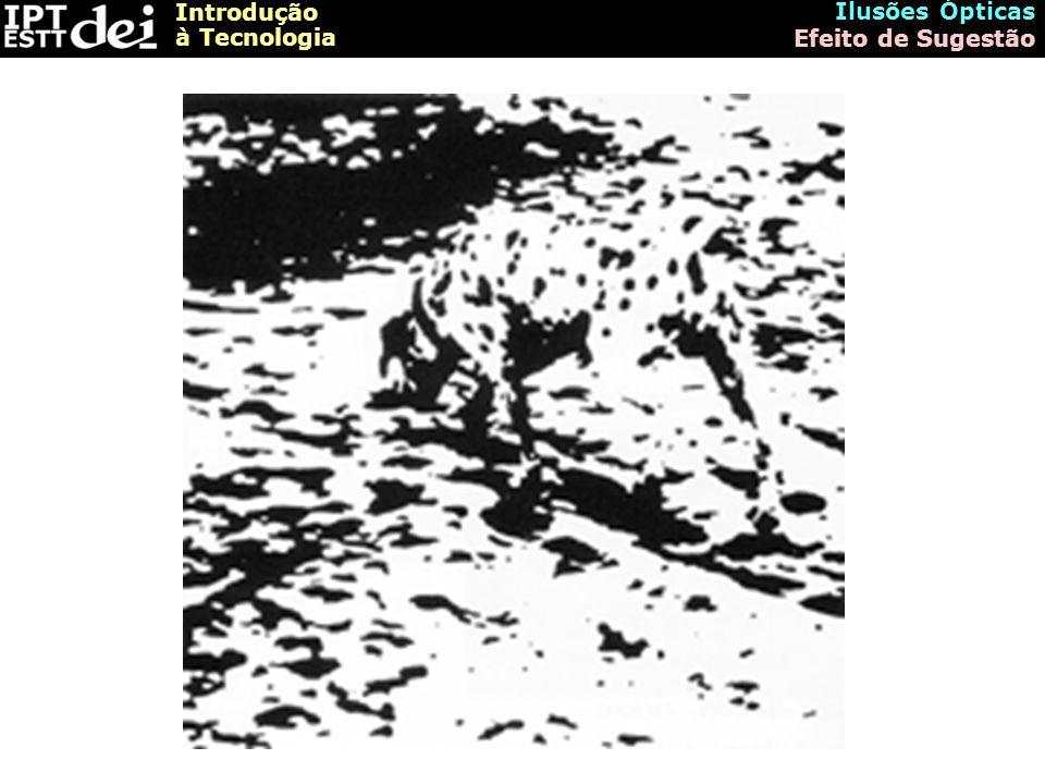 Introdução à Tecnologia Ilusões Ópticas Efeito de Desfocagem A focagem-desfocagem de algumas imagens pode perturbar ou alterar a impressão psicológica provocada pela sua percepção.