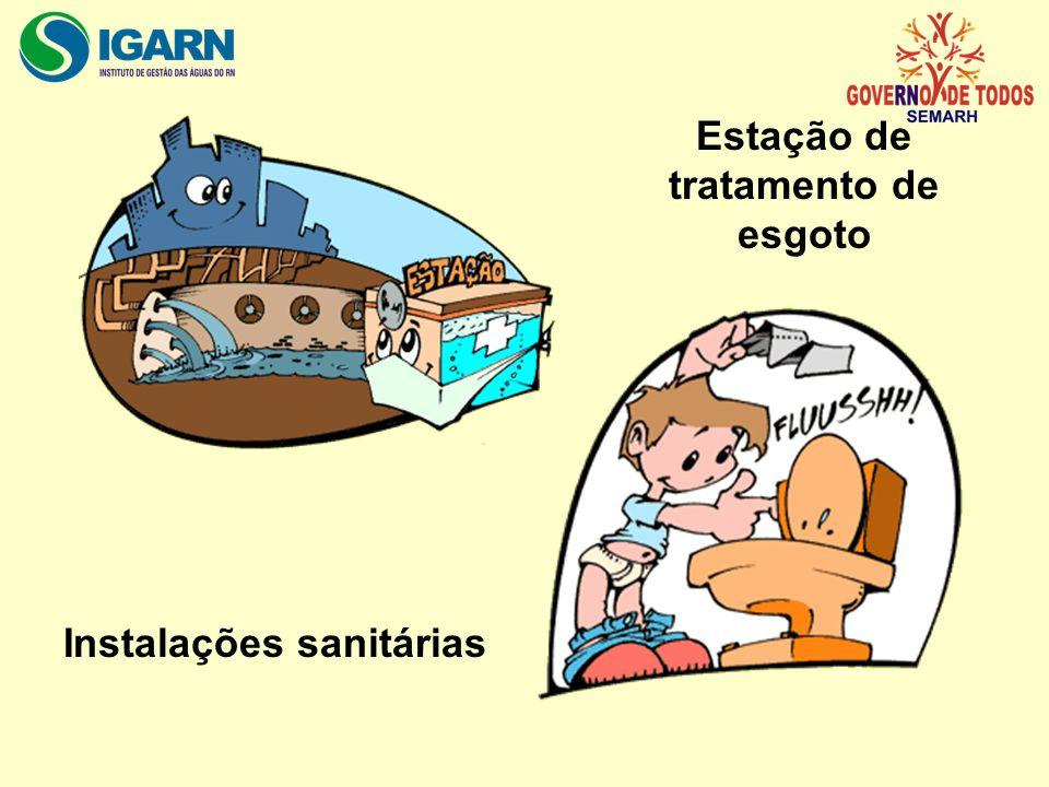 Estação de tratamento de esgoto Instalações sanitárias